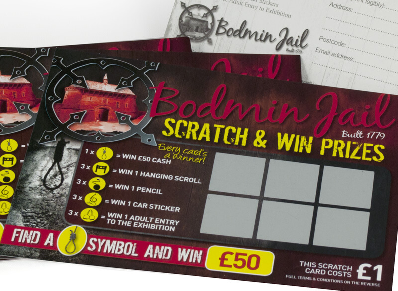 Scratch Card Project: Bodmin Jail