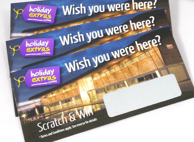 Scratch Card Project: Holidayextras.com