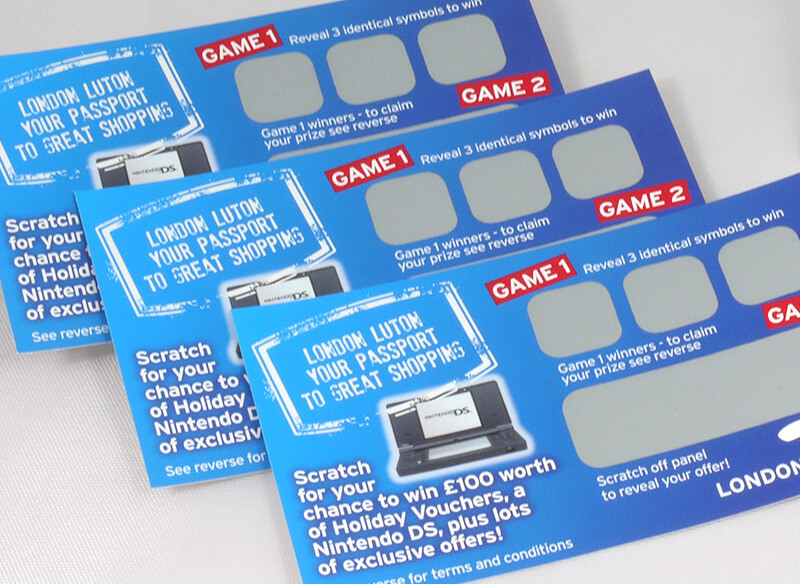 Scratch Card Project: Luton Airport