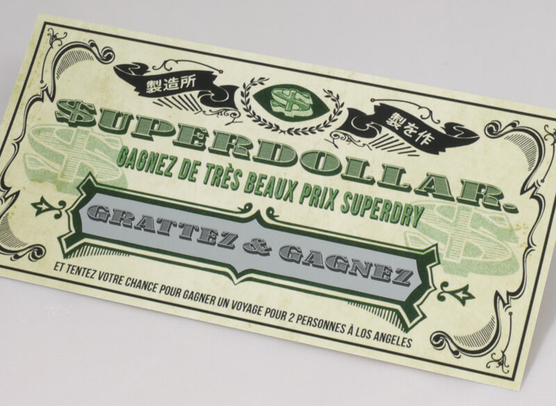 Scratch Card Project: Super Dry