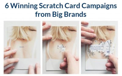 6 popular scratch card promotions from big high street names