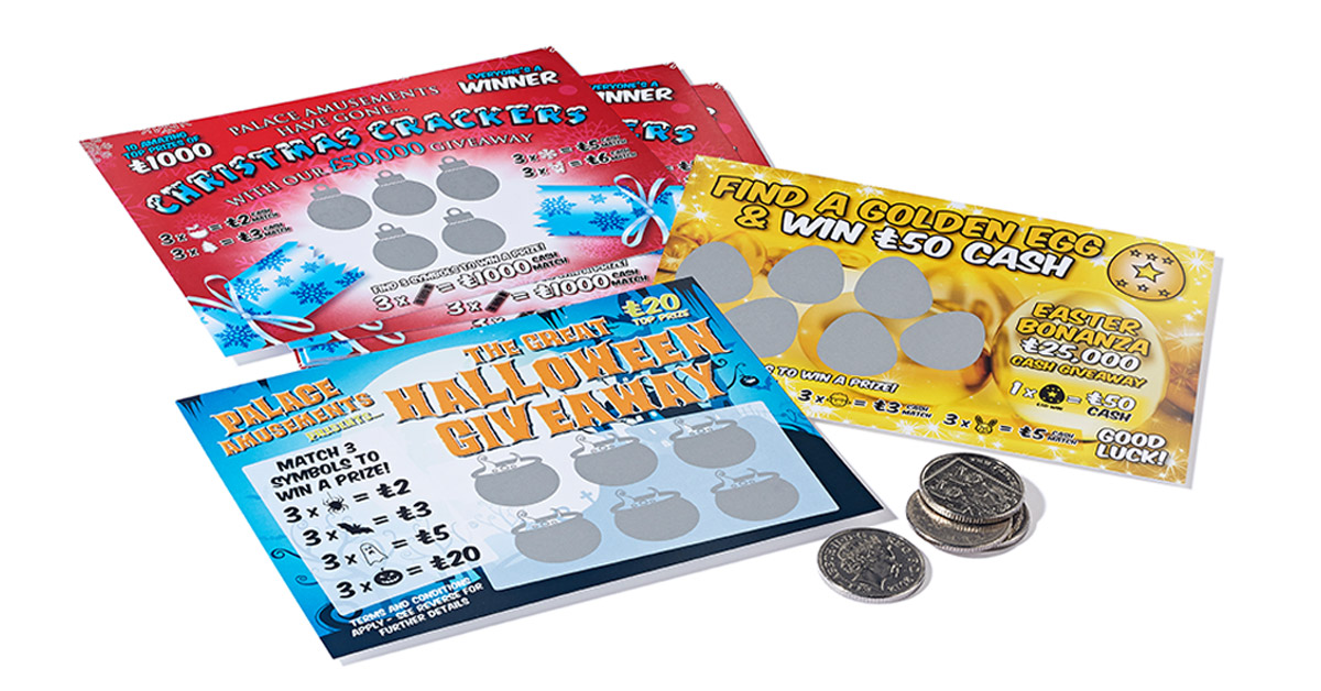 make scratch cards themselves