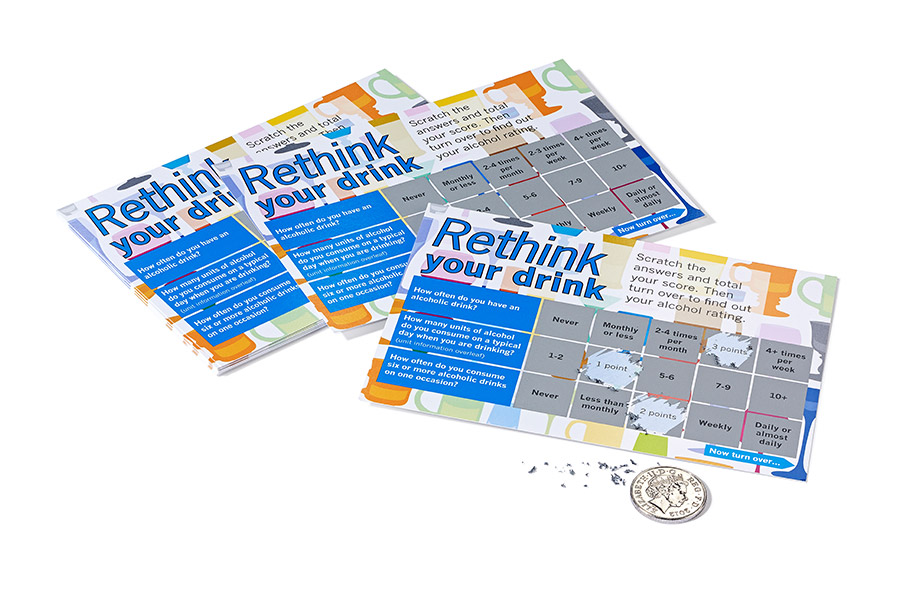 Experienced scratch card printers get the best results