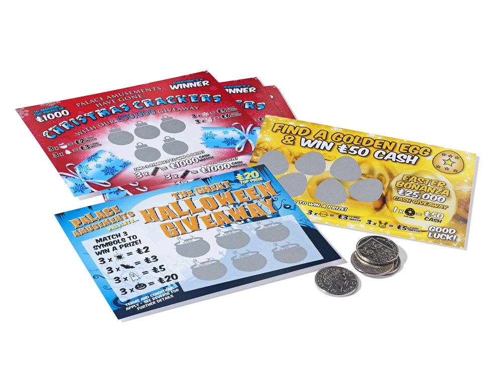 scratch card samples - seasonal scratch card games