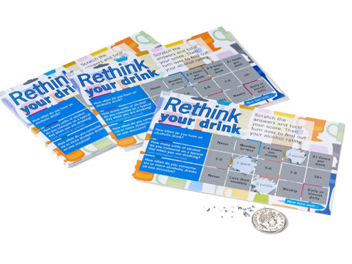 Scratch Card Project: Rethink your drink