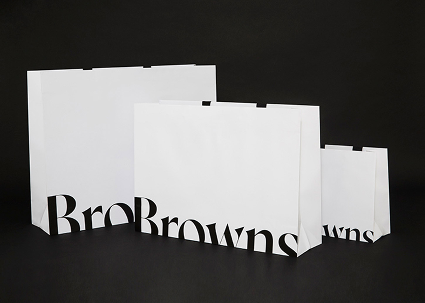 scratch card promotion - Browns shopping bag logo redesign
