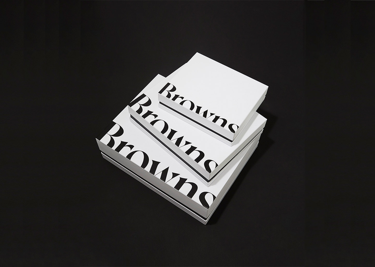 scratch card promotion - Browns gift box logo redesign