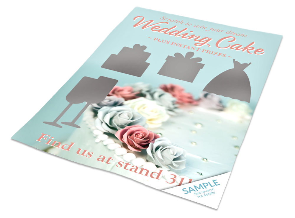 Scratch card design - Wedding
