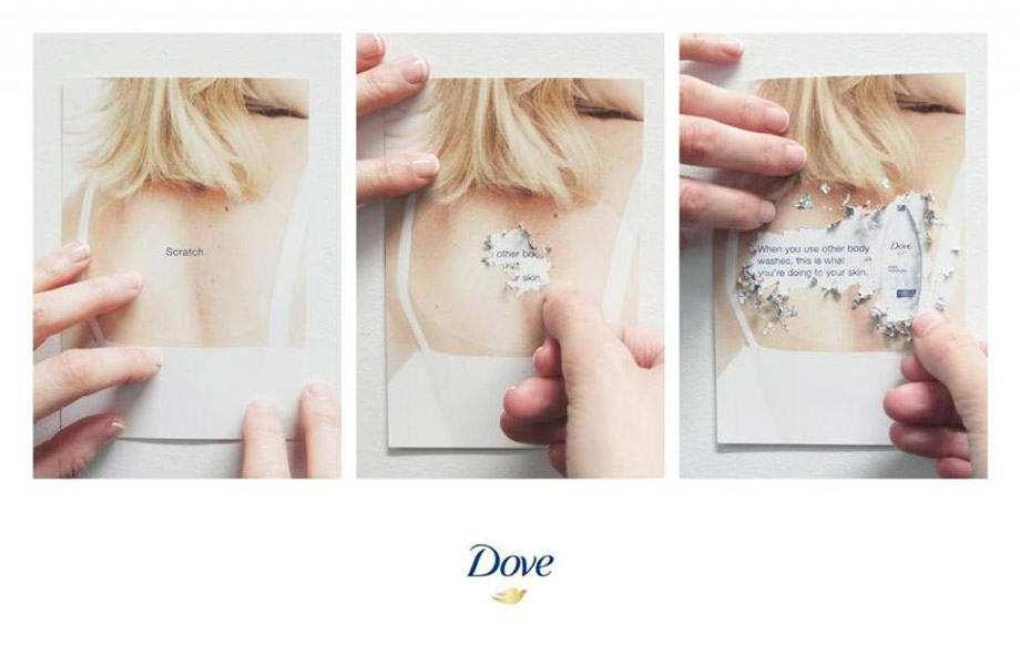 Dove Scratch Card Promotions