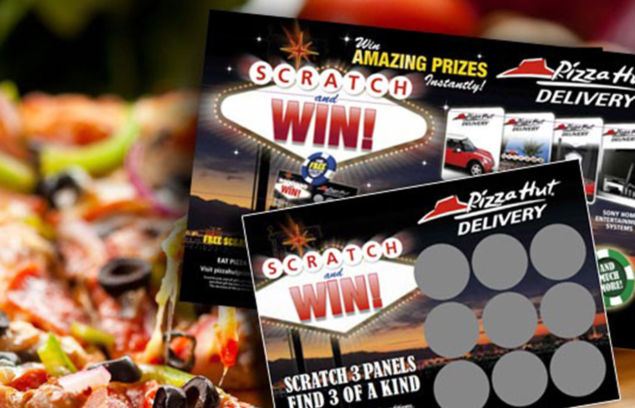 Pizza Hut Scratch Card Promotions
