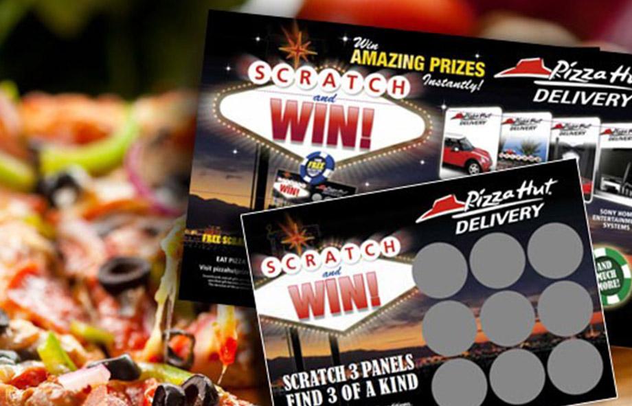 Pizza Hut Scratch Card Promotions