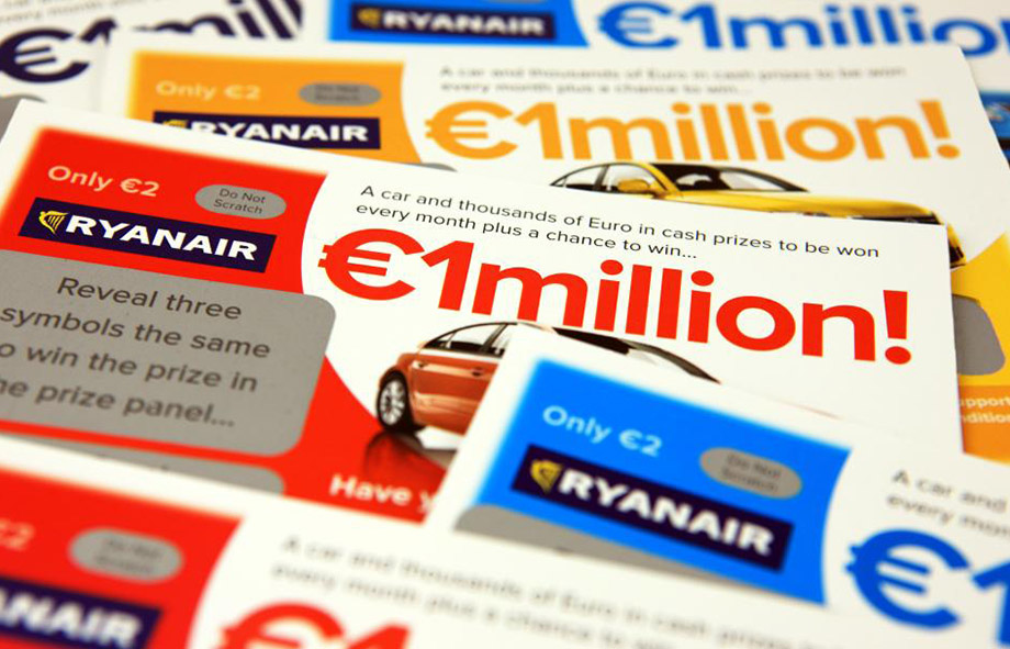 Ryan Air Scratch Card Promotions