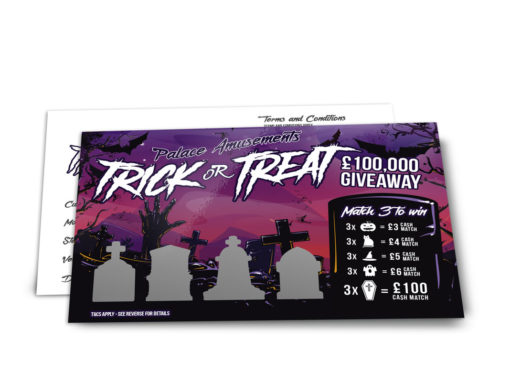 Scratch Card Project – Halloween Zombies